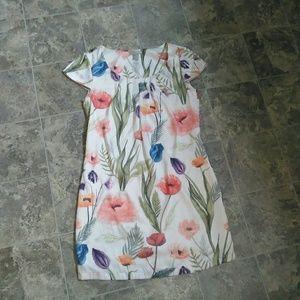 H&M Floral Shift Dress!